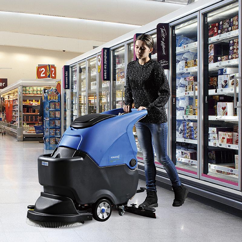 容恩手推式洗地机R50B|洗地机价格
